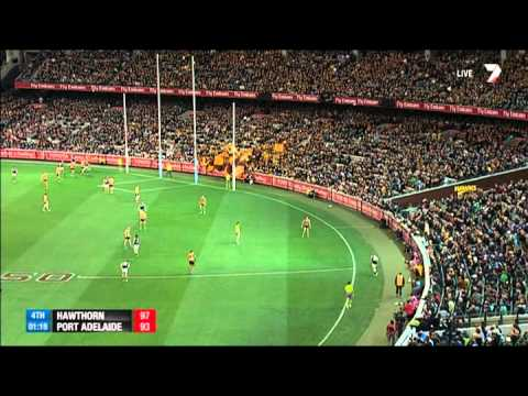 minutes - Watch the incredible finish to Hawthorn and Port Adelaide's epic preliminary final. For more video, head to http://afl.com.au.