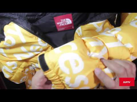 Supreme TNF Collection  SS16 SteepTech