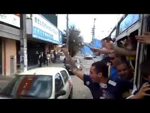 la previa de boca vs riber con la filial garin - La 12 - Boca Juniors - Argentina - América del Sur