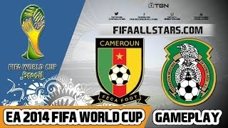 EA 2014 FIFA World Cup Mexico Vs Cameroon - Highlights