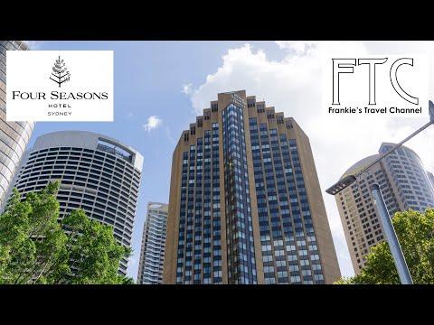 Four Seasons Hotel Sydney in 4K (Best hotel in Sydney)