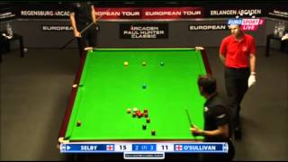 Ronnie O'Sullivan - Mark Selby (Frame 6) Snooker Paul Hunter Classic 2013 - Semi Final