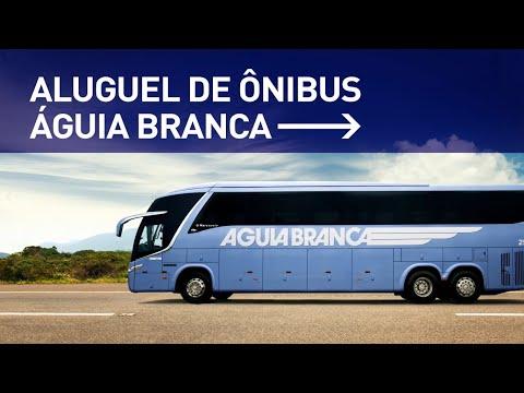Aluguel de ônibus - Viação Águia Branca