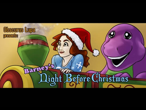 Barney's Night Before Christmas (1999) (Obscurus Lupa Presents) (FROM THE ARCHIVES)