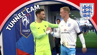 Subscribe to FATV: http://bit.ly/FATVSub FATV brings you exclusive access from the Stade de France tunnel as England faced...
