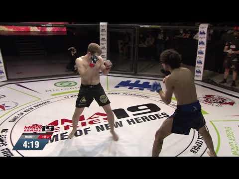 MMA SERIES-19: Time of New Heroes - Firuz Nazaraliev (Tadjikistan) vs. Artem Semenov (Russia)
