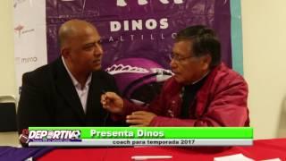 PRESENTAN AL HEAD COACH DE LOS DINOS, ES GUILLERMO RUIZ BURGETE