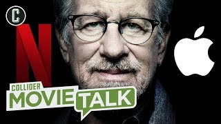 Video Steven Spielberg Hates Netflix But Loves Apple - Movie Talk MP3, 3GP, MP4, WEBM, AVI, FLV Maret 2019