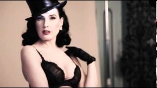 Dita Von Teese Is Spellbinding In Sexy Lingerie For Von Follies
