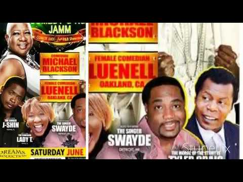 Don't Miss Michael Blackson, Luenell, Tyler Craig in Arizona June 25th!