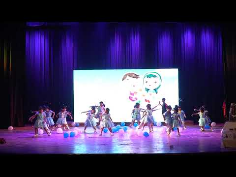 08 Stepping Stones Public School Annual Day Dance performance by Class I