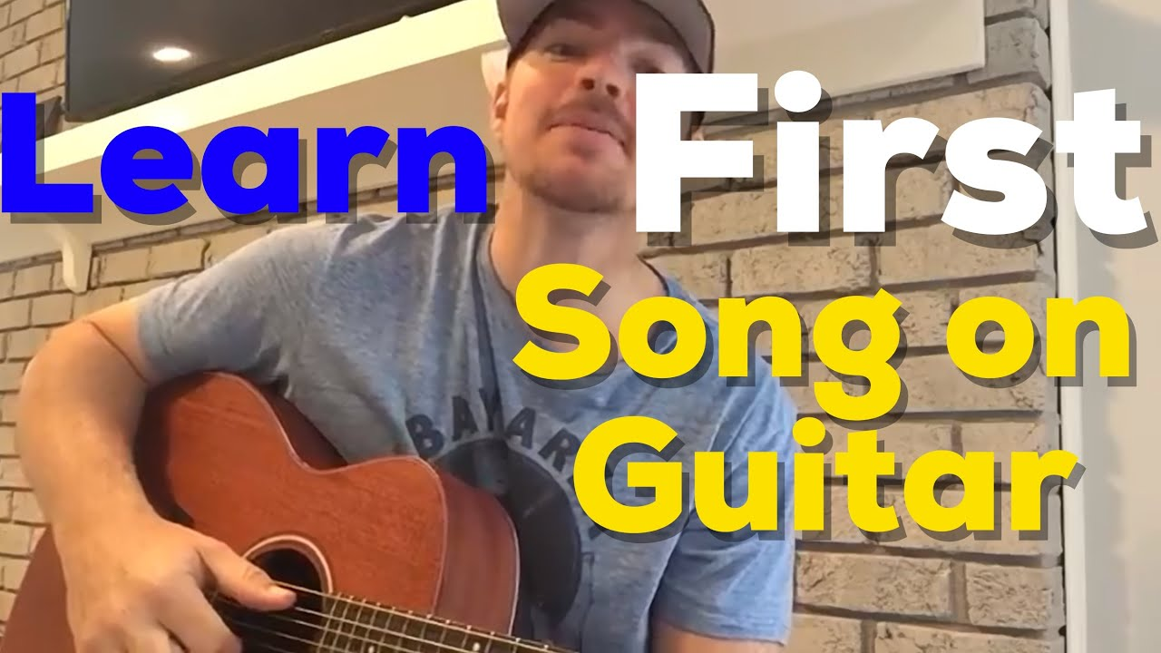 Learn Your First Song on Guitar | Travis Tritt | I'm Gonna Be Somebody