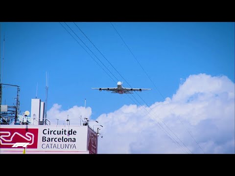 A380 Flypast at 2019 Spanish Grand Prix | Emirates Airline