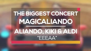 Video Aliando, Kiki 'CJR' & Aldi 'CJR' - Eeeaa (The Biggest Concert MagicAliando) MP3, 3GP, MP4, WEBM, AVI, FLV April 2019