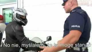 """""""Czy to jest rower?!"""" Wzorowa interwencja przykładnego policjanta"""