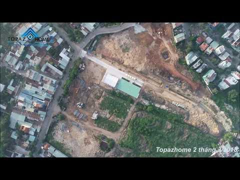 Topaz Home 2 quận 9 góc nhìn Flycam