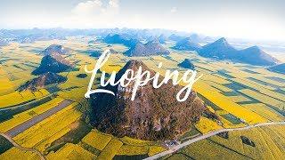 Aerial views of LuoPing 罗平, YunNan and XingYi 兴义, GuiZhou