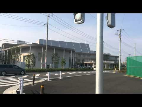 おおたかの森小学校・中学校(公立校)8/2撮影