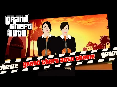 Grand Theft Auto - Main Theme (Duet Feeriya Violin)