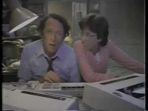 Beverly Archer 1983 Coleco Adam Computer Commercial