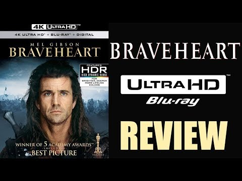 BRAVEHEART 4K Bluray Review | Dolby Atmos