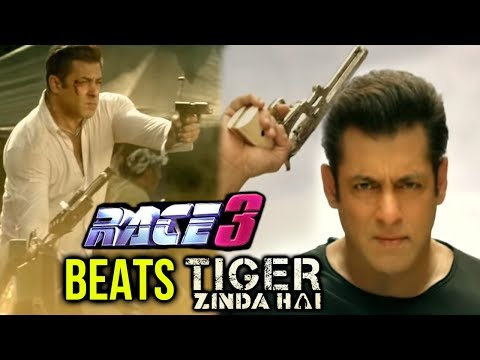 Salman Khan Action Stunts In Race 3 Beat Tiger Zin
