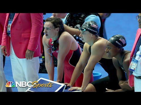 Ledecky returns as USA and Australia compete for world record | NBC Sports