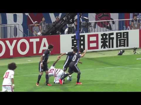 [Match Highlights] [WC2018 Football qualification] Japan 1-2 UAE