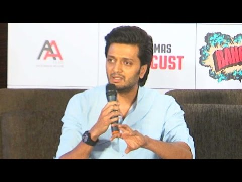 Being From A Political Family Riteish Deshmukh Spe
