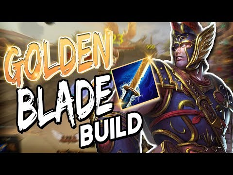 Smite: Golden Blade Mercury Build - This Is Beyond Over Powered! (видео)