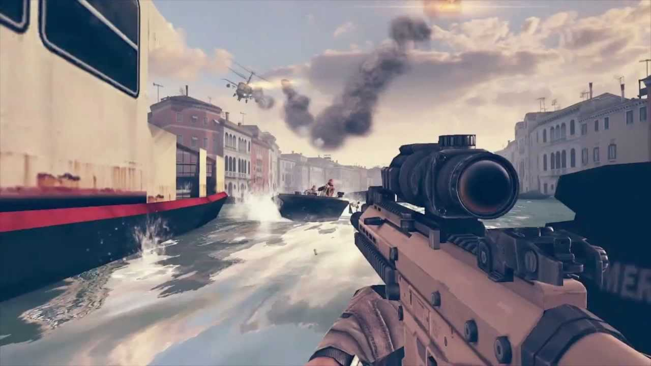 Gameloft Reveals 'Modern Combat 5' in New E3 Trailer