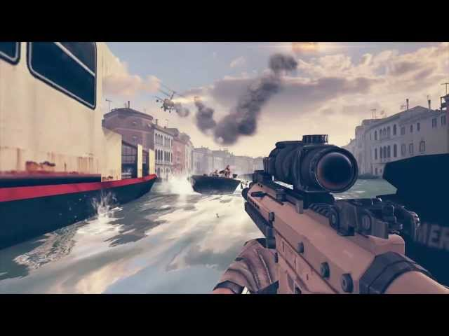 Modern Combat 5 - E3 Trailer - iPhone / iPad / Android
