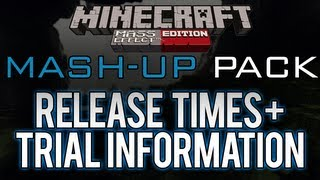 Minecraft: Xbox 360 - Mass Effect Mash-Up Pack Release Times + Trial Pack Information