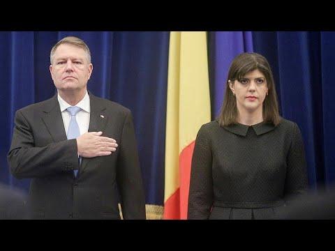 Ρουμανία: Διάταγμα που καθαιρεί τη γενική εισαγγελέα κατά της διαφθοράς υπέγραψε ο Πρόεδρος της χ…