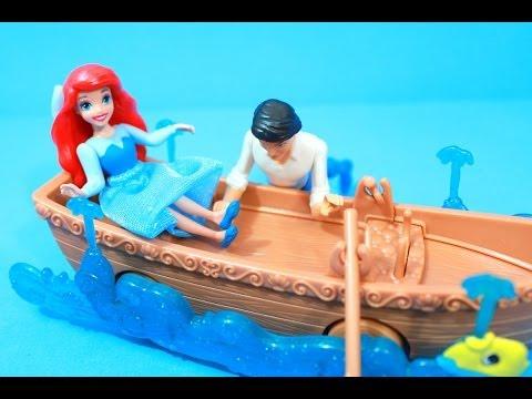 Ariel & Eric's Boat Ride REVIEW Disney Little Mermaid Princess Mattel toy