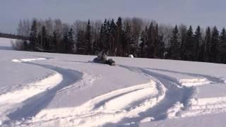 10. �негоход-arctic cat pantera 600EFI по пухл�ку.