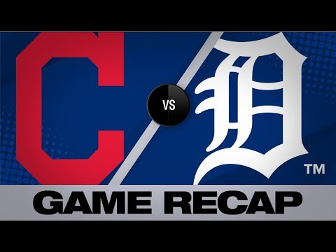Video: Lindor, Kipnis power Indians to a 4-2 win   Indians-Tigers Game Highlights 8/28/19