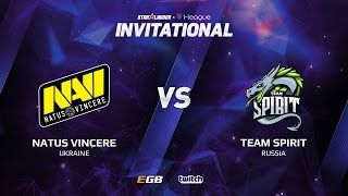 Natus Vincere vs Team Spirit, Game 2, SL i-League Invitational S2, EU Qualifier