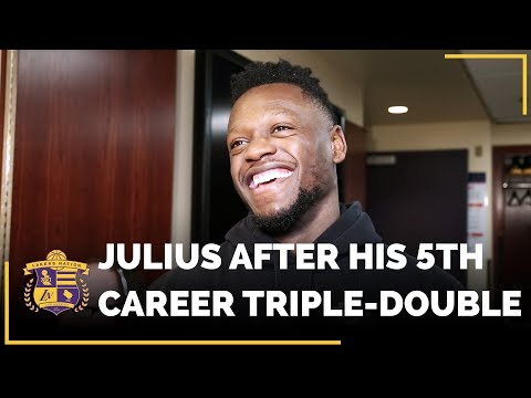 Video: Julius Randle Shares Thoughts On Recording His 5th Career Triple-Double
