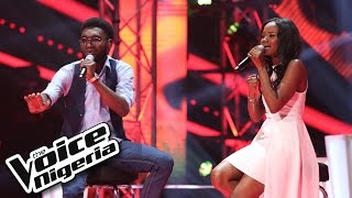 Grace Mac vs Ojay sing 'Redemption Song'  -  The Voice Nigeria 2016