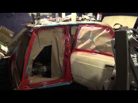 1983 Mercedes-Benz 240D – part 89: removing additional trim