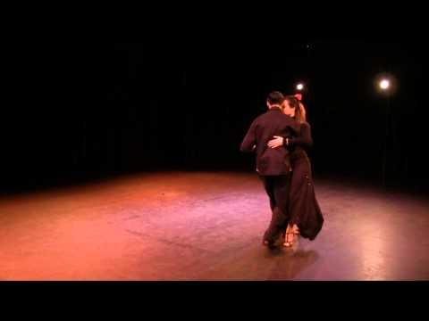 Mil pasos, Tango, dansé par Laure et Yannick Lhermitte