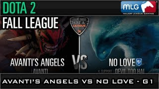 Fall League: Avanti vs No Love - Game 1