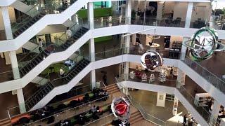 VIA University College Aarhus campus C time lapse