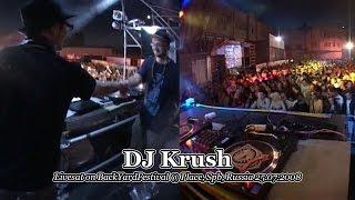 DJ Krush - Live @ BackYardFestival x Place, Spb, Russia 2008