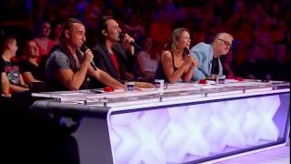 Un candidat d'incroyable talent menace le jury - YouTube