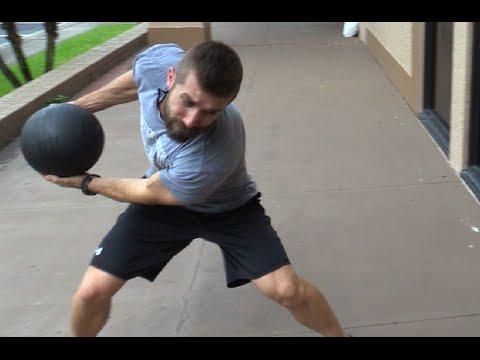 【プライオメトリクストレーニング!~メディシンボールで上半身&コアの強化~】