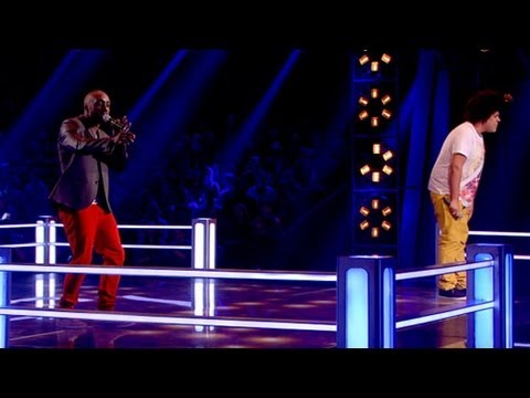 The Voice - Visit http://www.bbc.co.uk/thevoiceuk to play The Voice Predictor Game and for all The Voice UK 2013 news. Performing 'Soul Man', Trevor wins his Battle agai...