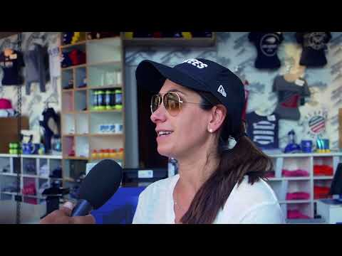 Tom Tebbutt chats with patrons of the US Open Collection store to find out what's in their shopping bags and whether it was worth shelling out on the souvenirs.