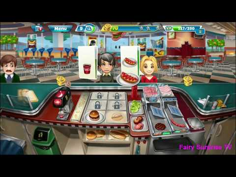 Cooking Fever  Game - Level 10 To 20  - Walkthrough Game For Kids - Children